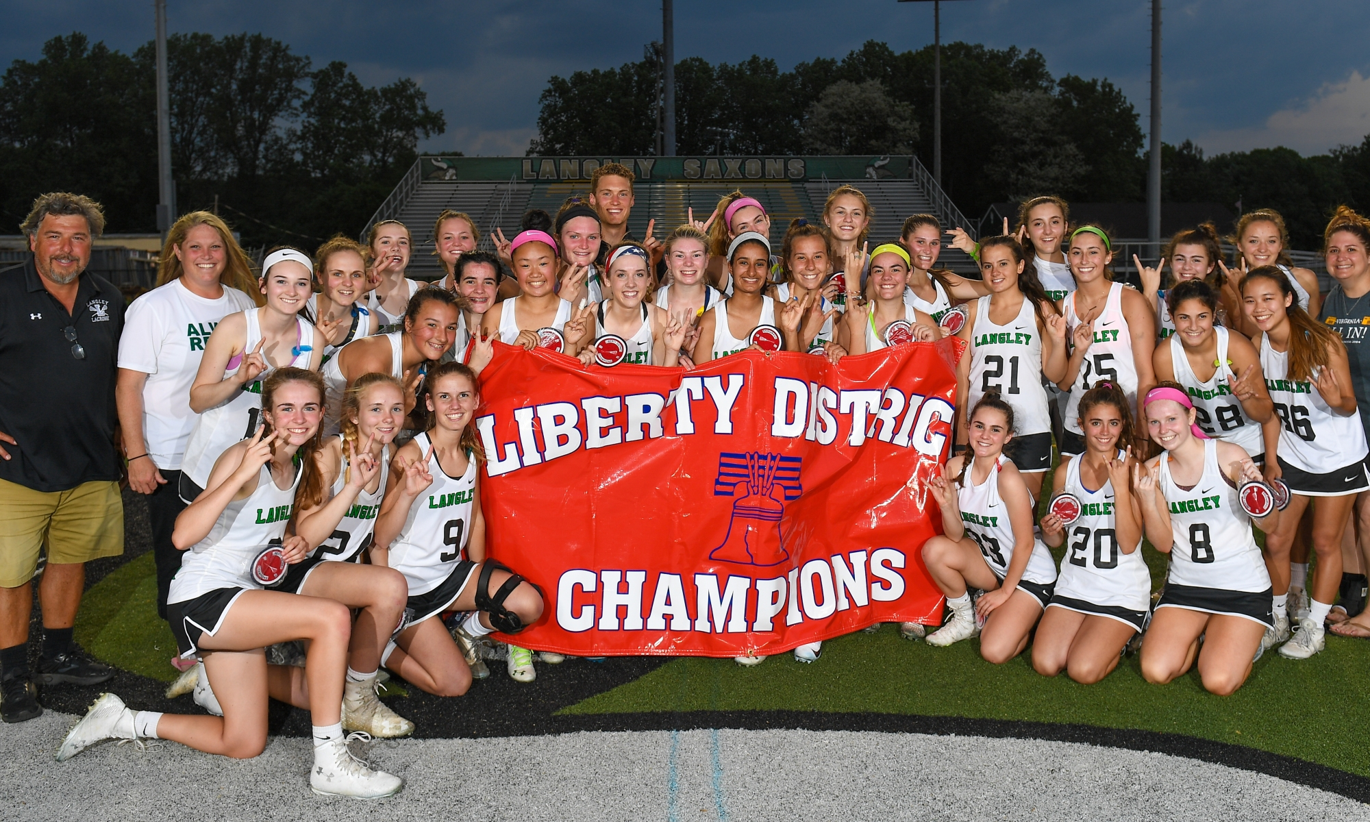 Langley Girls Lacrosse 2018 Liberty District Champs
