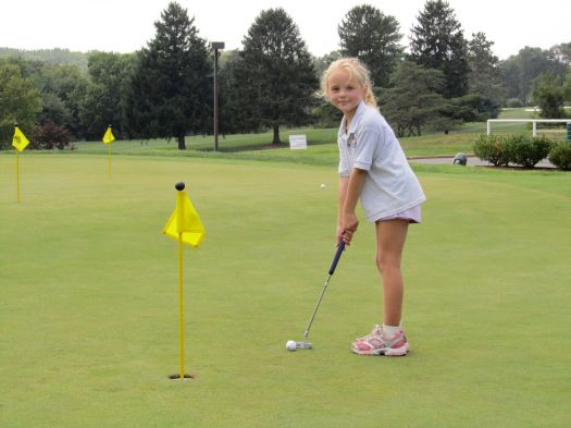 alexa romero golf 7 years old