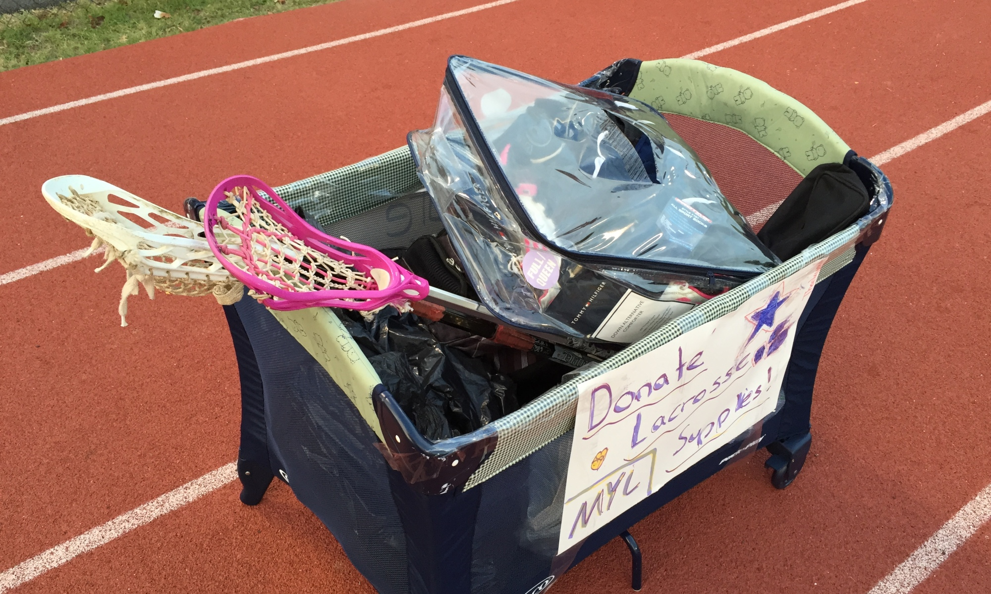 Lacrosse Donations Equipment Drives