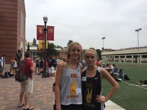 USC Lacrosse Camp Alexa Romero