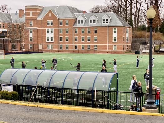 GW Women's Lacrosse Winter Clinic