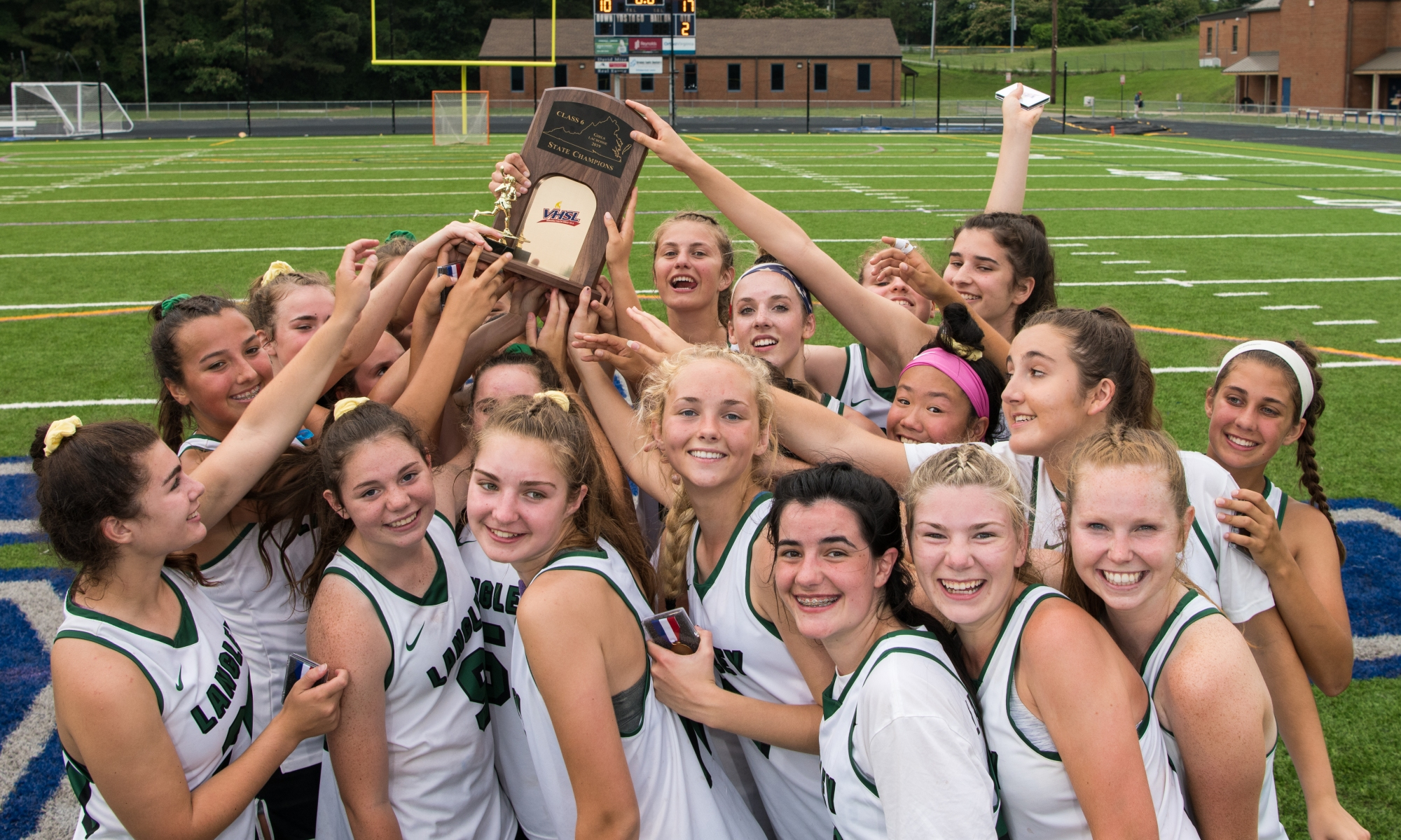 Langley Girls Lacrosse 2019, Virginia State Champions